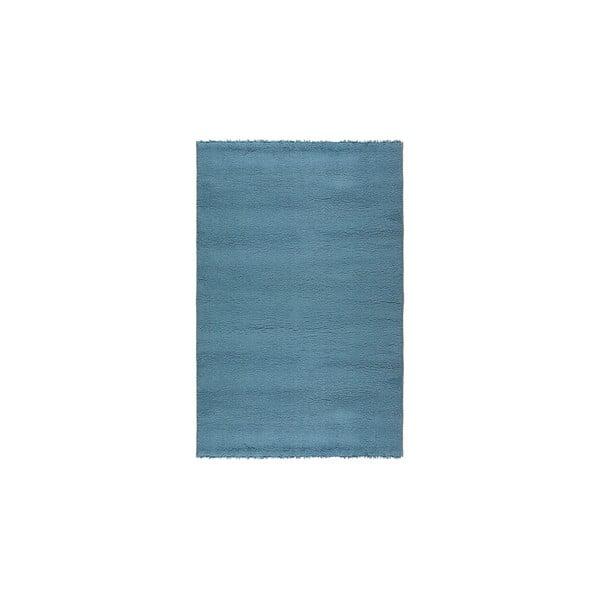 Vlněný koberec Pradera, 120x160 cm, modrý