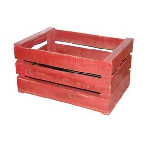 Dřevěný box Antic Line Wooden Red
