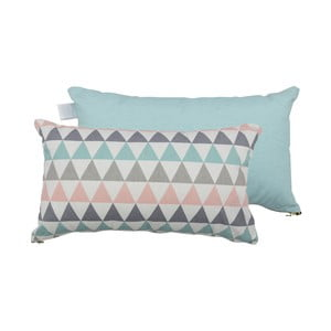 Set 2 perne Karup Deco Cushion Pastel Trinity/Peppermint, 45 x 25 cm