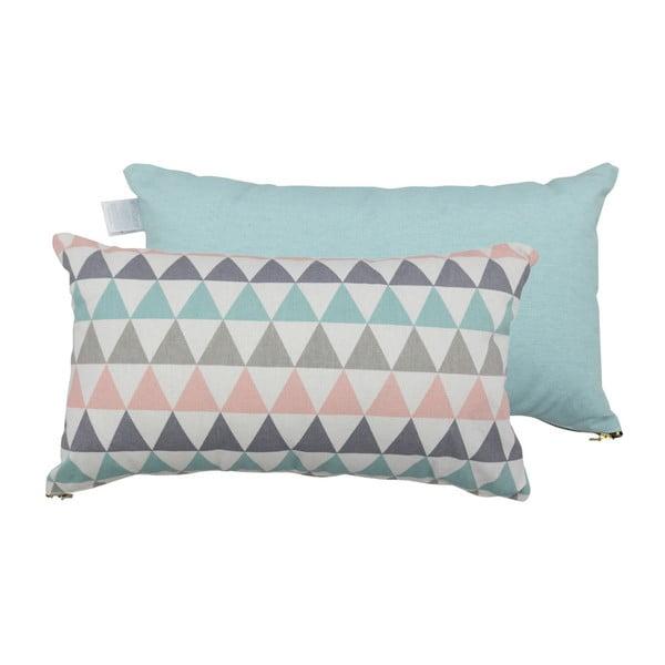 Zestaw 2 poduszek z wypełnieniem Karup Deco Cushion Pastel Trinity/Peppermint,45x25cm