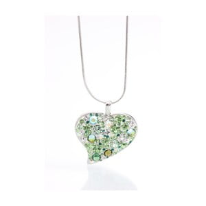 Colier Swarovski Elements Laura Bruni Rich Heart Junglio