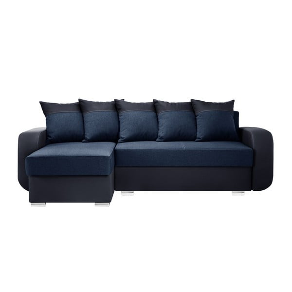 Tmavě modrá sedačka Interieur De Famille Paris Destin, levý roh