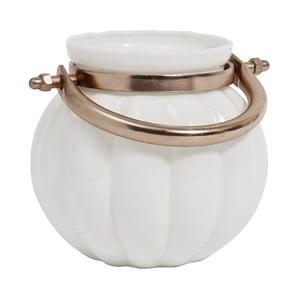 Váza Pumpkin White S