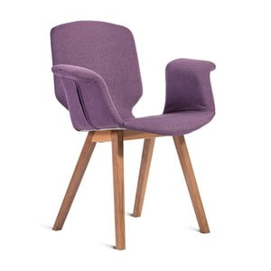 Fialová židle Charlie Pommier Tea