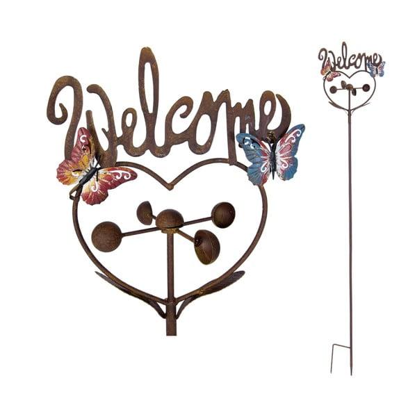 Zapichovací cedule na zahradu Welcome, 143 cm