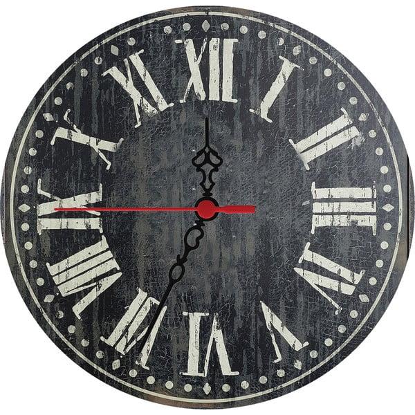 Nástěnné hodiny Dark Times, 30 cm