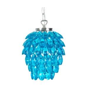 Závěsné světlo Josephine, modré