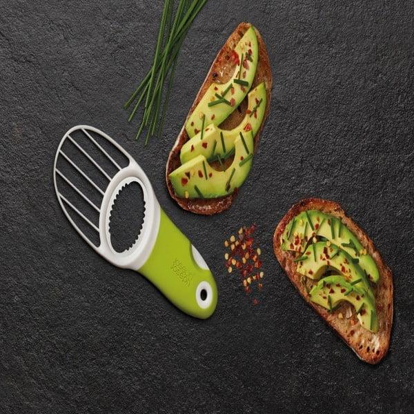 Zelený nástroj na avokádo 3v1 Joseph Joseph GoAvocado