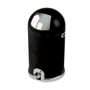 Odpadkový koš Capsule, 33 litrů, černý