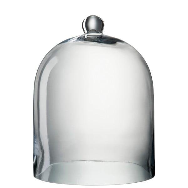 Skleněný dekorativní poklop Bell, výška 40 cm