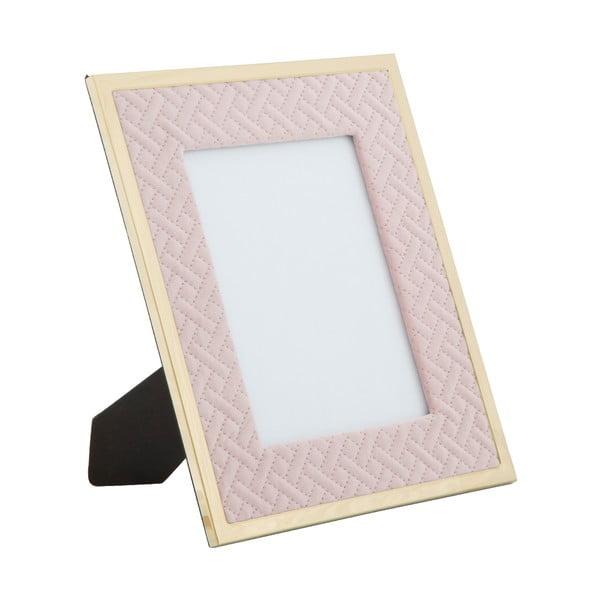 Glam rózsaszín, asztali képkeret, 15 x 20 cm - Mauro Ferretti