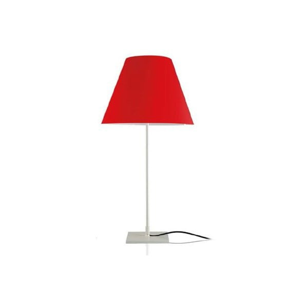 Stolní lampa Simple Metal/Red