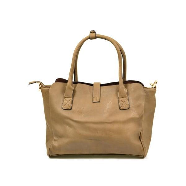 Kožená kabelka Alessia, taupe