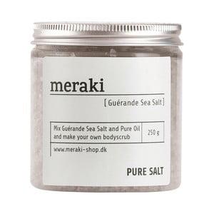 Exfoliant cu sare de mare Meraki Pure, 250 g