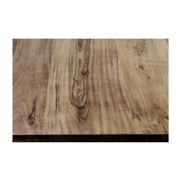 Masă cu blat din lemn de salcâm HMS collection SoHo, 300 x 100 cm