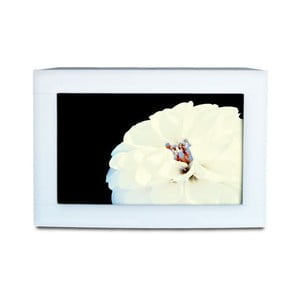 Náhradní výplň Květiny I, bílý rám