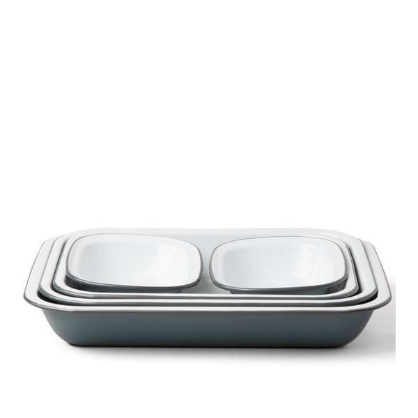 5 részes szürke zománcozott sütőedény szett - Falcon Enamelware