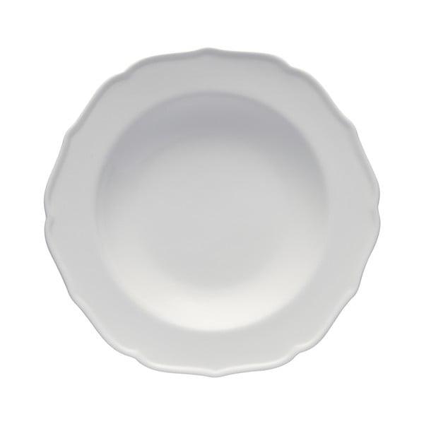 Porcelánový talíř Bianco Moderne, 23 cm