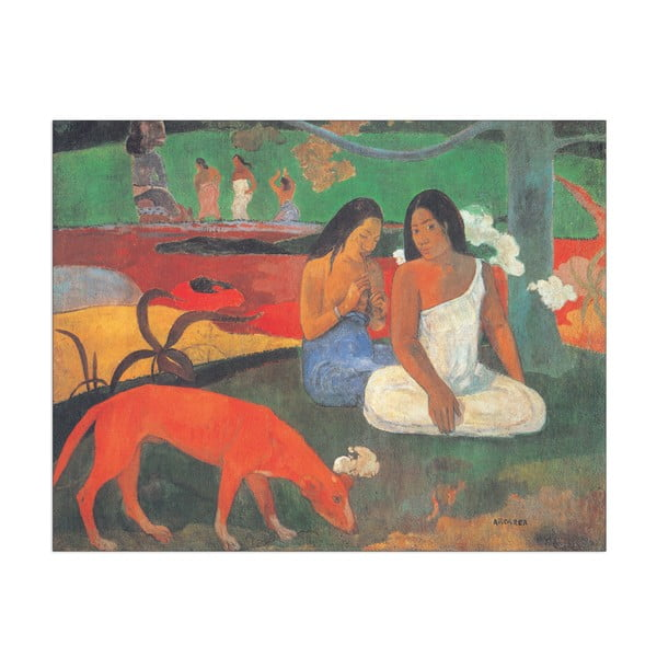 Obraz Gauguin  Arearea, 40x31 cm