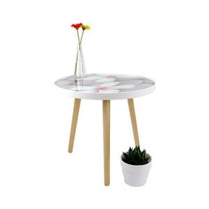 Odkládací stolek Furniteam Design, ⌀ 50 cm