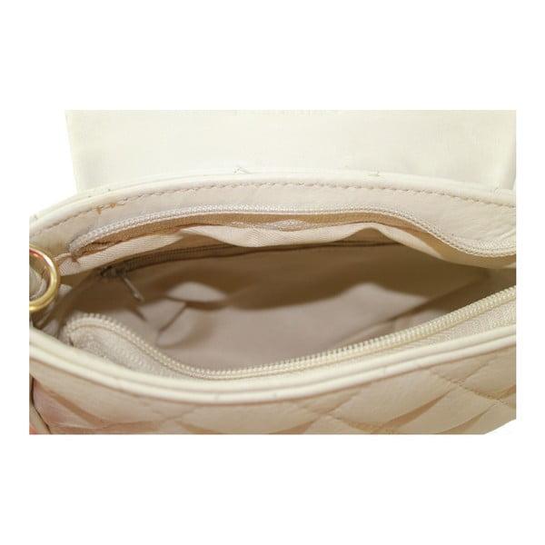 Šedá kožená kabelka Serena