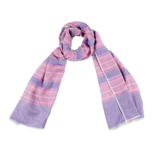 Šátek s příměsí hedvábí Shirin Sehan - Vivien Sweet
