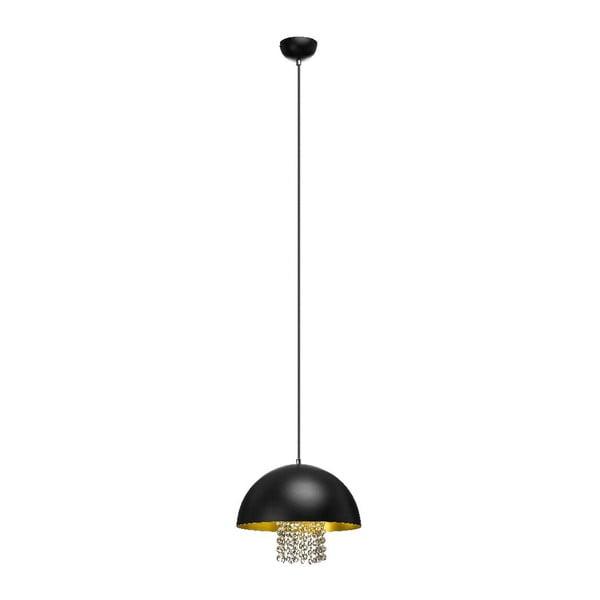 Závěsné světlo Dia Black 30 cm