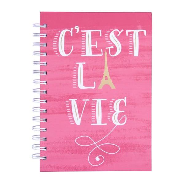 Caiet Tri-Coastal Design Paris C'est La Vie