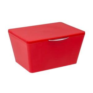 Červený koupelnový úložný box Wenko Brasil Red