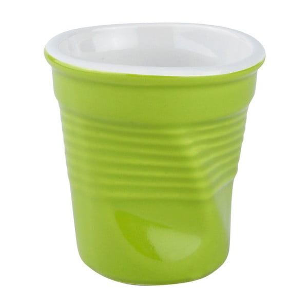 Zmačkaný hrnek 0,1 l, zelený