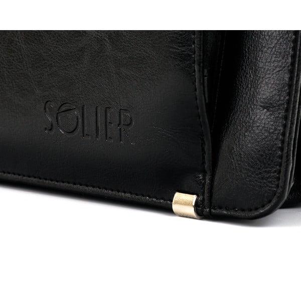 Pánská taška Solier S21, černá