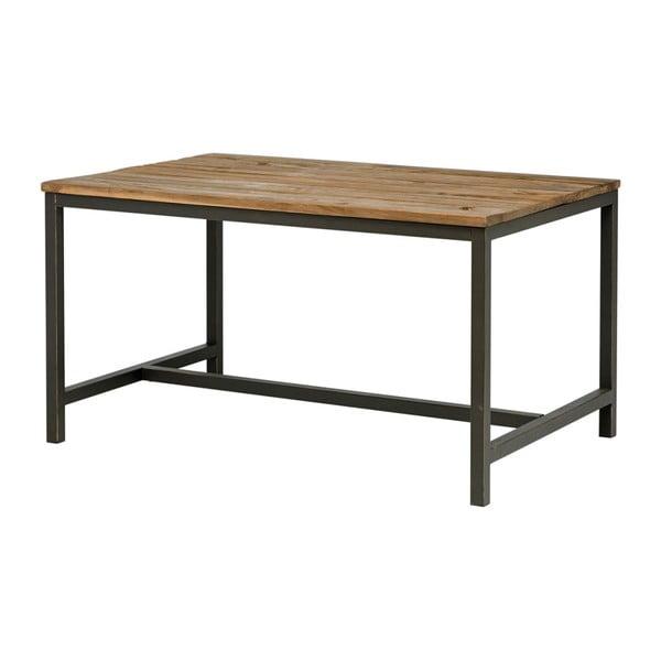 Jídelní stůl s deskou z jilmového dřeva Interstil Vintage, 140 x 75 cm