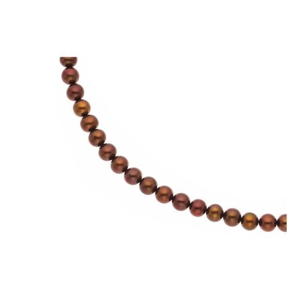 Náhrdelník Choco Pearls