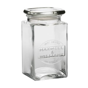 Skleněná dóza Maxwell & Williams Jar, 1 l