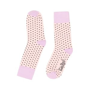 Světle růžové ponožky Funky Steps Dotty, vel. 35-39