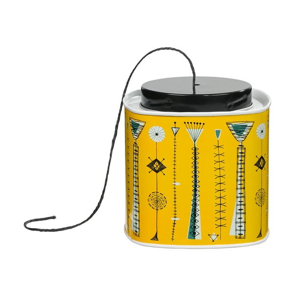 Žlutá dóza s provázkem V&A Tin Kite