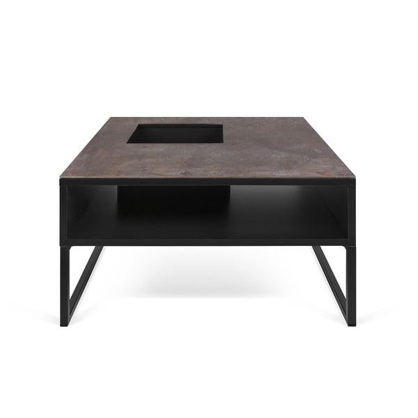 Černý konferenční stolek TemaHome Sigma