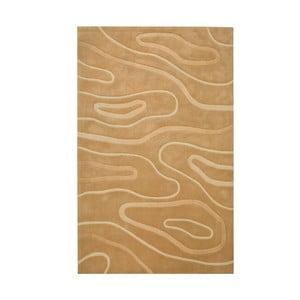 Ručně tkaný koberec Phoenix, 120x180 cm, béžový