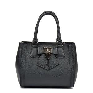 Černá kožená kabelka Renata Corsi Serena