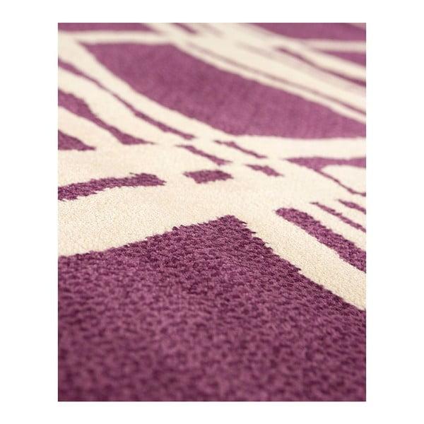 Vlněný koberec Tatoo 105 Lila, 120x160 cm