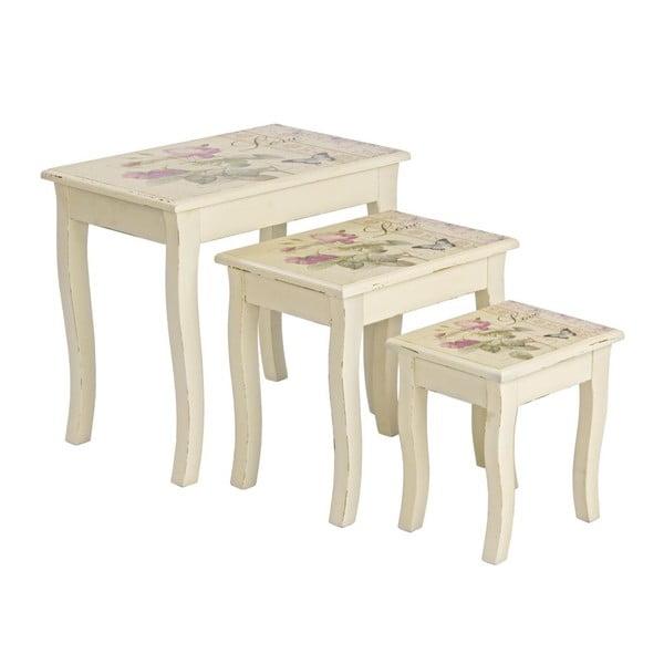 Set 3 stolků Madame
