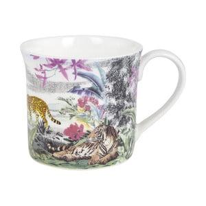 Hrnek z kostního porcelánu Ashdene Jungle Kingdom Big Cats, 260ml