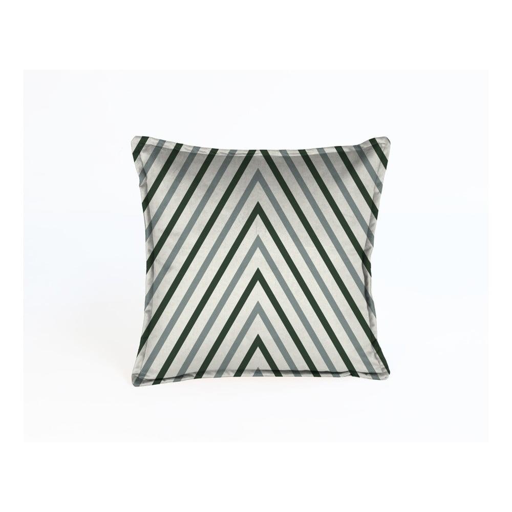 Dekorativní polštář Velvet Atelier Diagonal, 45 x 45 cm