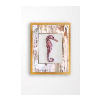 Tablou pe pânză Tablo Center Seahorse, 29 x 24 cm de la Tablo Center