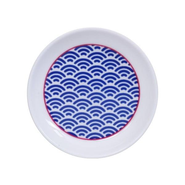 Modrý talířek Tokyo Design Studio Star/Wave, ø9cm
