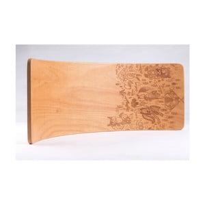 Bukové houpací prkno Utukutu Teepee, délka82cm