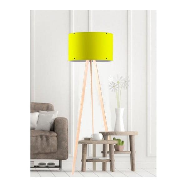 Simple sárga állólámpa
