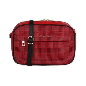 Červená kabelka / psaníčko Laura Ashley Furley
