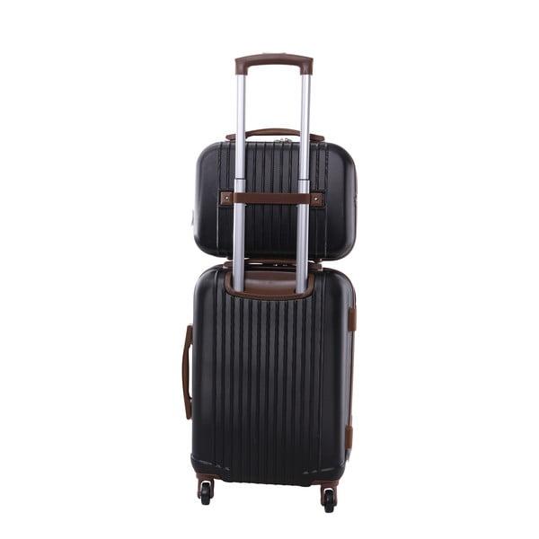 Kufr s příručním zavazadlem Vanity Jean Louis Scherrer Black