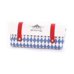 Školní penál Circus, modrý
